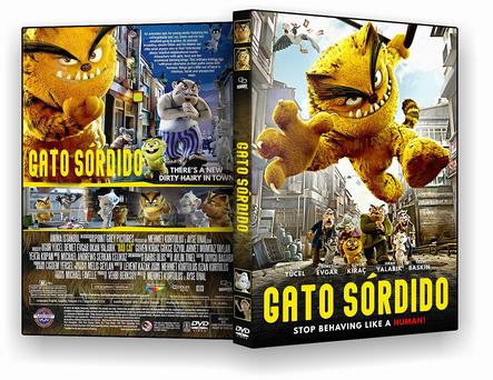 DVD GATO SORDIDO DVD-R AUTORADO 2020