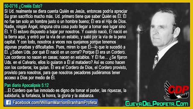 Quién es Jesús - William Branham en Español