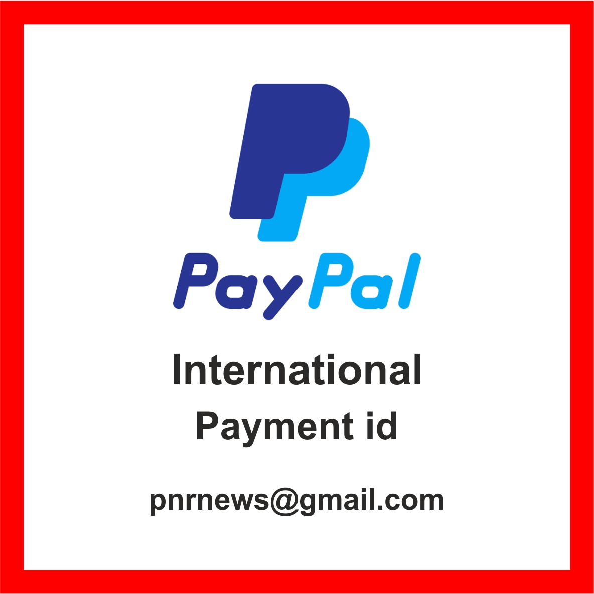 for outside India costumers online payment for your advertisement