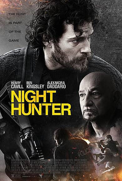 Sinopsis Film Night Hunter (2019) - Henry Cavill, Ben Kingsley