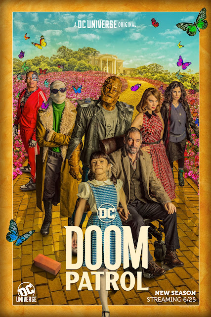 Doom Patrol season 2 DC Universe poster