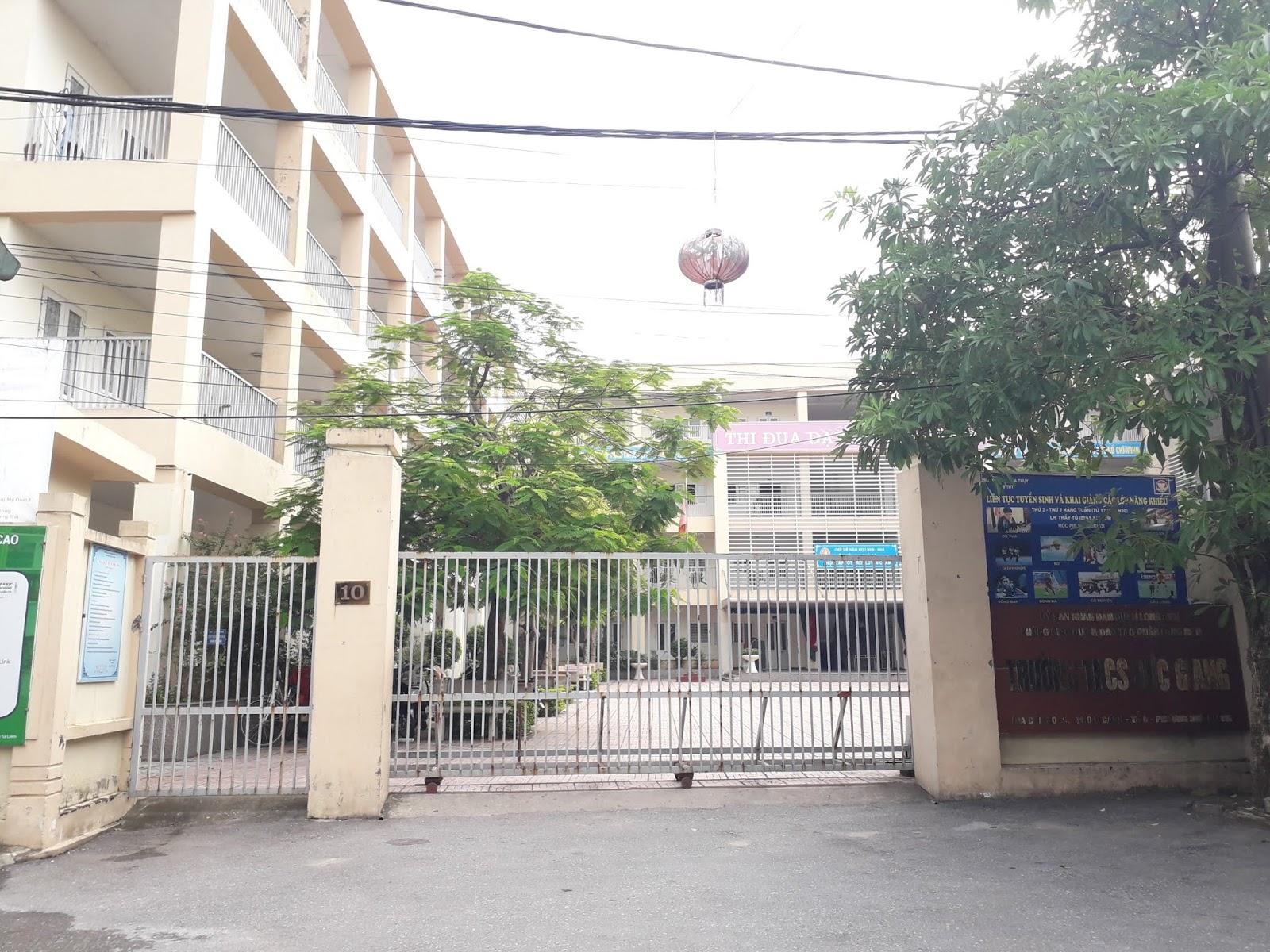 Trường THCS Đức Giang.