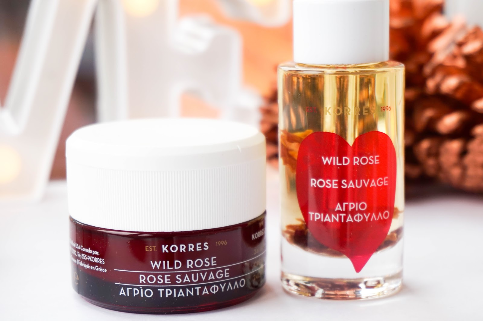 KORRES Wild Rose Skincare