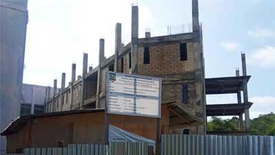 Bangunan gedung rawat inap RSUD Kabupaten Sijunjung