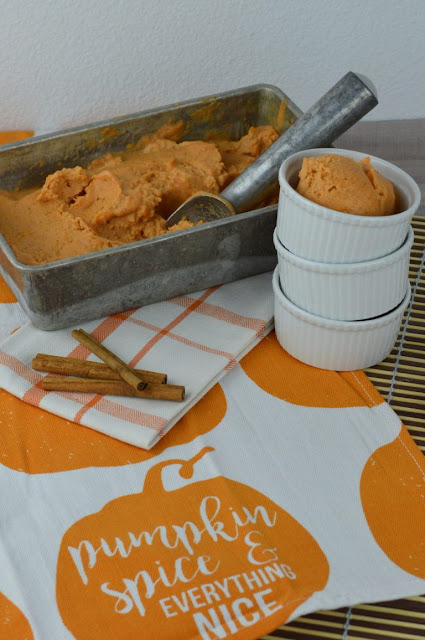 Skinny Pumpkin Pie Ice Cream Recipe
