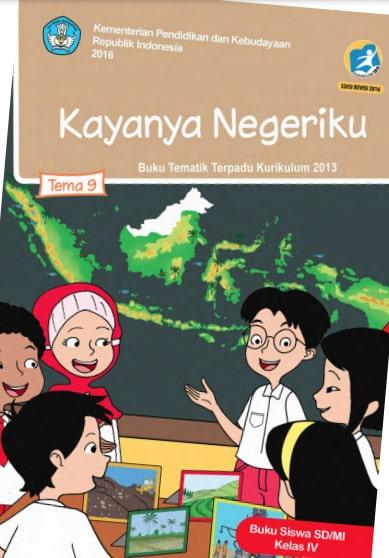 Buku Siswa Kelas 4 Tema 9 Revisi 2017 Kurikulum 2013