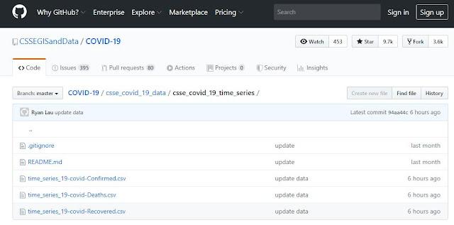 Corona Virus Breakout - Get Updated Status through Microsoft Power BI and GitHub