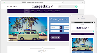 Magellan-Travel WordPress theme