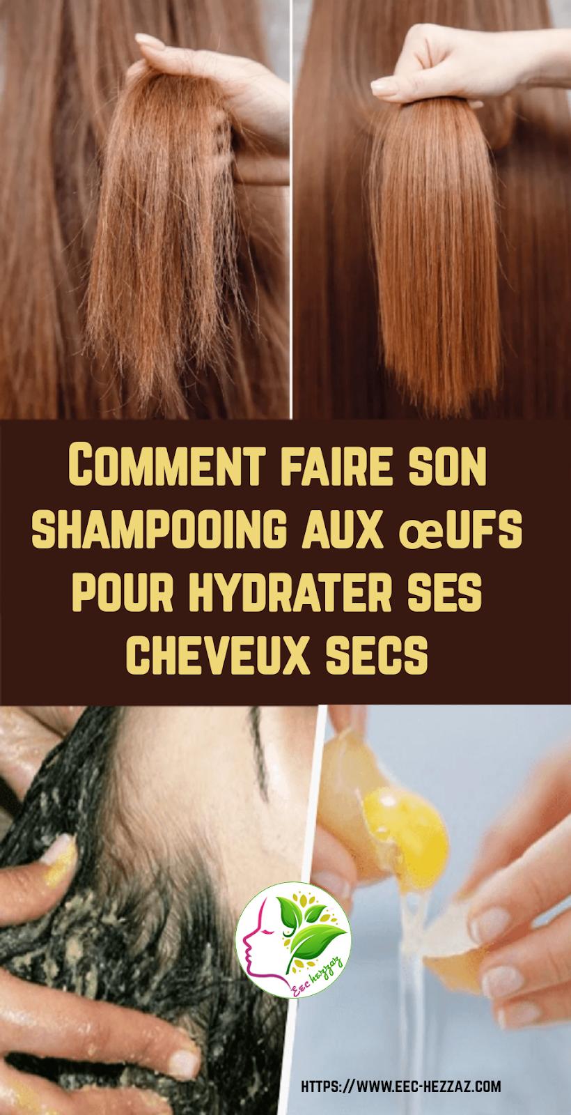 Comment faire son shampooing aux œufs pour hydrater ses cheveux secs