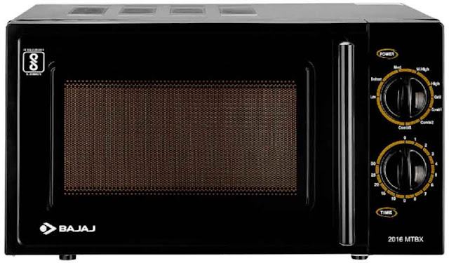 Bajaj MTBX 2016 Black - best microwave oven