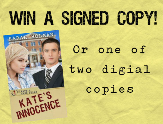 Win a copy of Kate's Innocence!