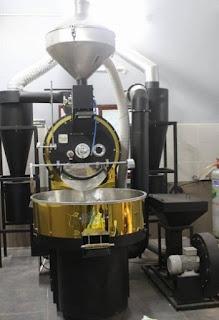 Máy rang cà phê chuyên nghiệp Vinaroaster
