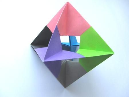 Christmas Tree Star Origami