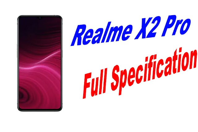 Realme X2 Pro Full Specification And Price in India