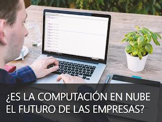 Hombre trabajando en la computadora
