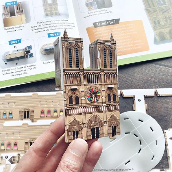 C'est pas sorcier : Maquette Notre-Dame de Paris - Deux Coqs d'Or