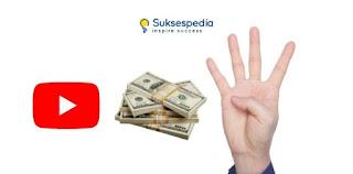 Inilah 4 Cara Mendapatkan Uang dari YouTube Dengan Cepat!