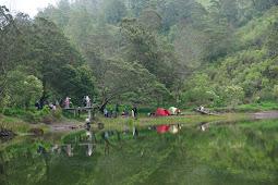 Eksotisme Ranu Regulo, Danau Cantik di Kaki Gunung Semeru