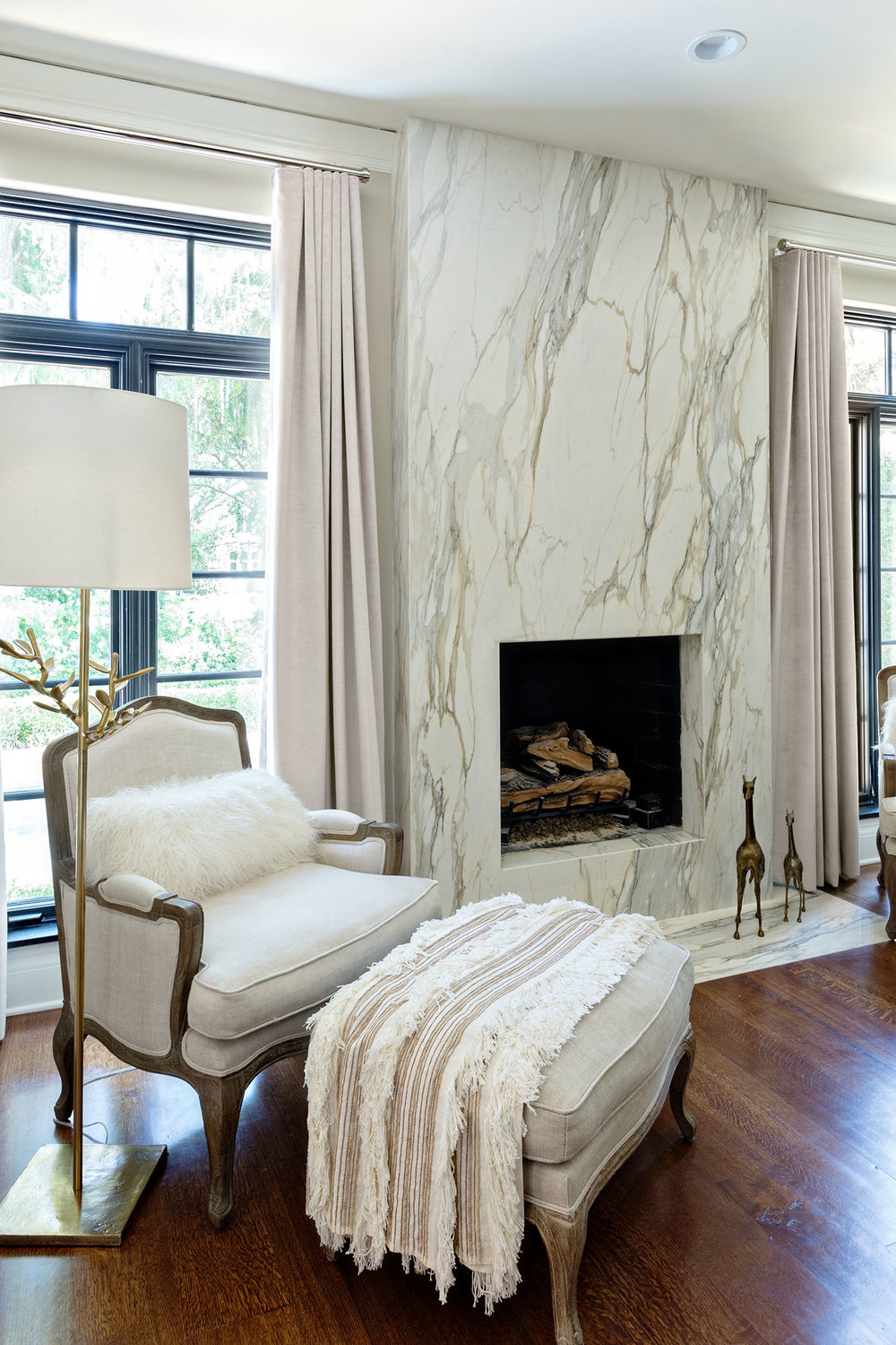 Modern Marble Bedroom Decoration