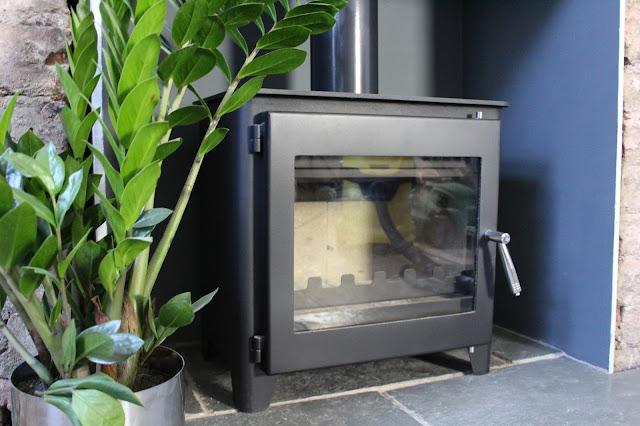 how to clean a log burner glass hack