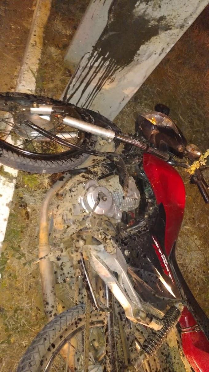 Acidente deixa uma pessoa morta e outra ferida, em Santa Cruz do Capibaribe