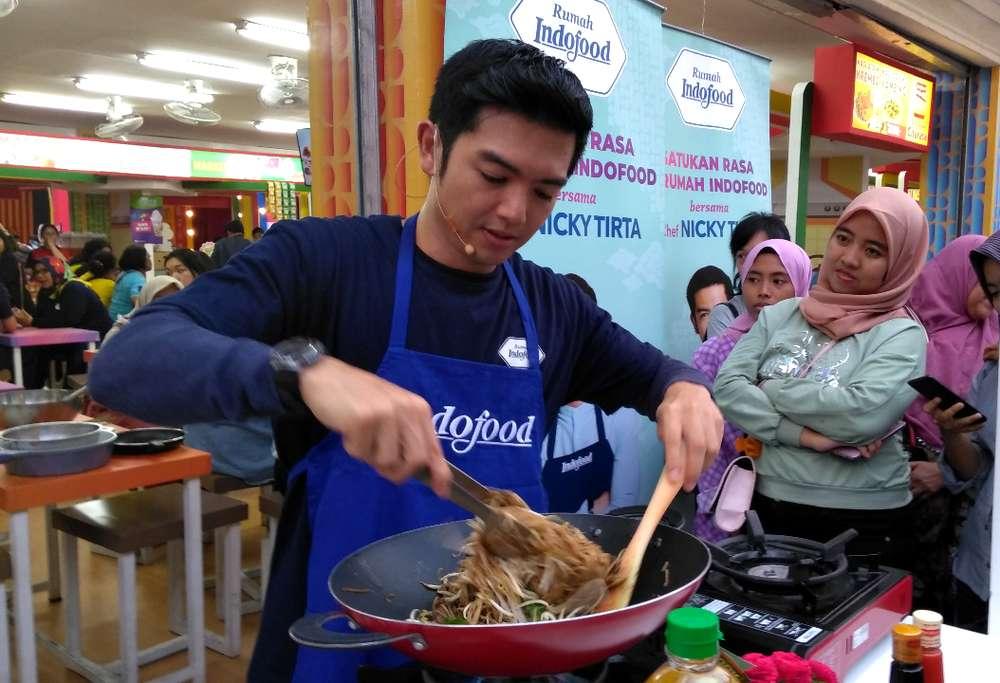 Nicky Tirta Hobi Masak (matain.id)