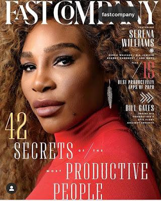 Serena Williams Fast Company Magazine..