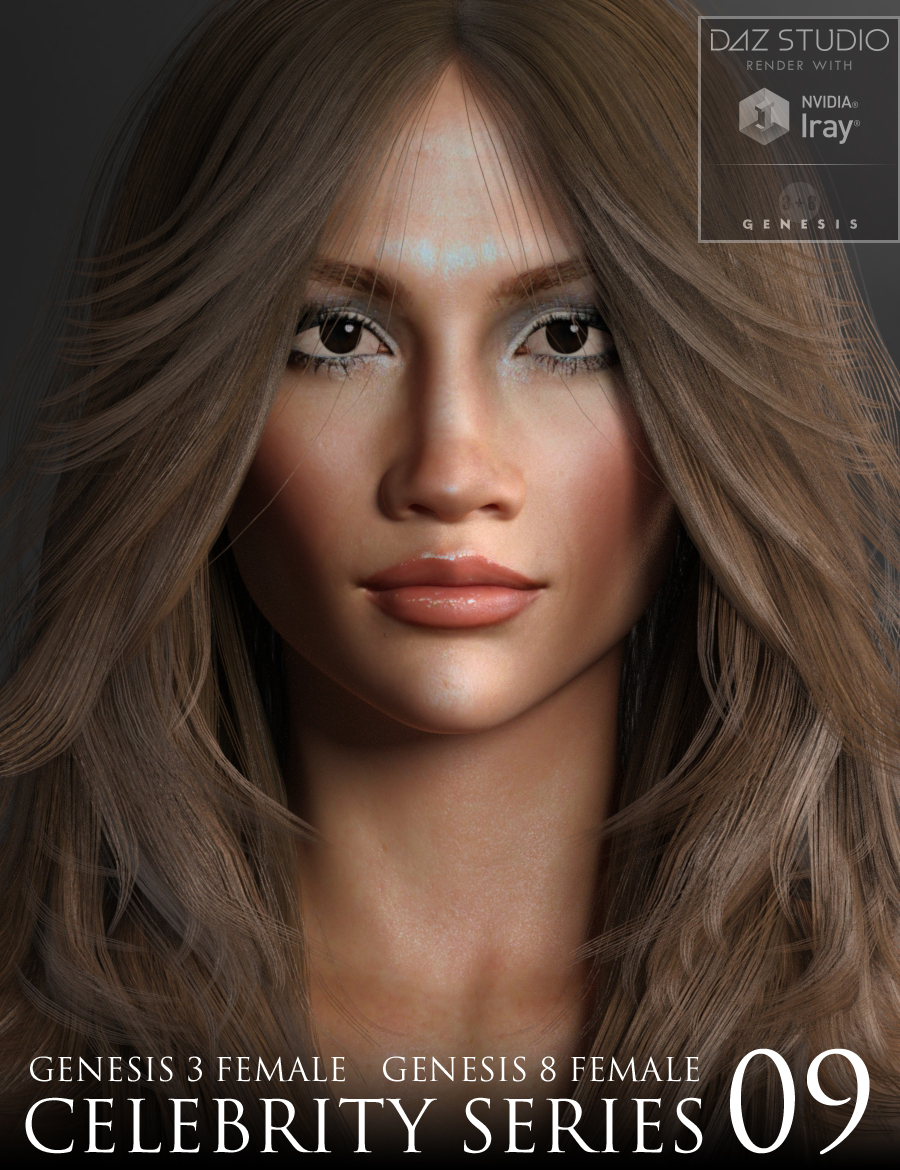Digital Creations - Poser and DAZ Studio content: NEW Celebrity