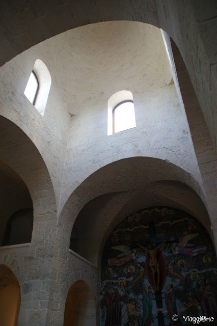 Alberobello - Chiesa di Sant'Antonio particolare dell'interno
