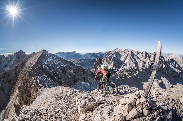 Monte Cavallo 2912m Mountainbike Tourenberichte und Fotos