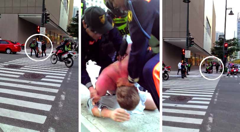 BGC marshals beat up, arrest 2 foreigners