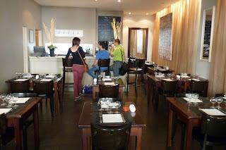 Restaurante del Hotel Les Négociants, Valence.