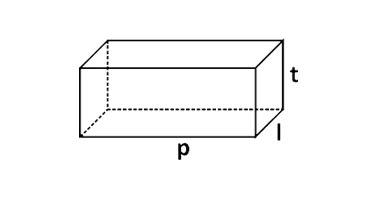 volume benda berbentuk balok