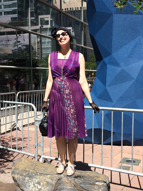 Outfits for Denver Pop Culture Convention 2019 Maxi Dresses & Purple!