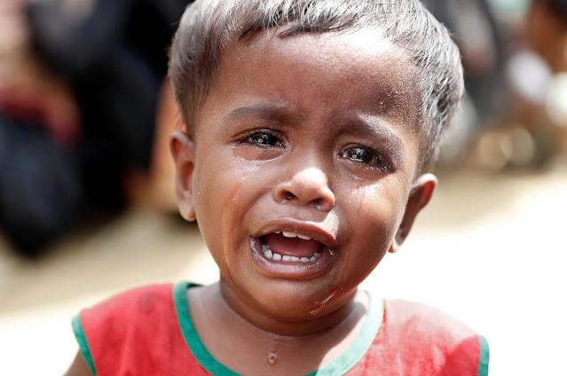 אינדיע דעפארטירט הונדערטער ראהינגא פליטים