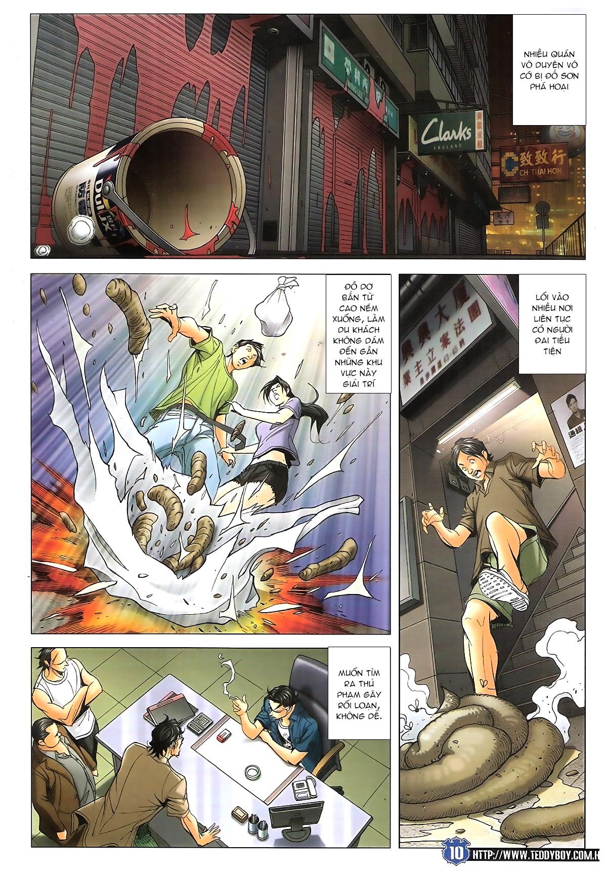 Người Trong Giang Hồ chapter 1645: làm khó đại b chảy trang 8