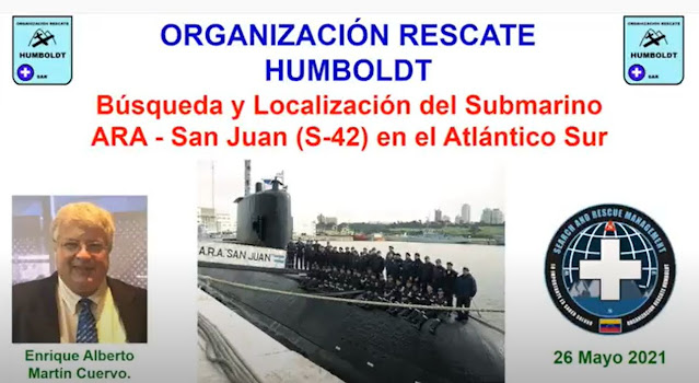 Organización de rescate realiza un completo informe sobre el Caso ARA San Juan