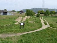 深北緑地公園 自由広場 マウンテンバイク・BMX・ストライダー専用のオフロードコース