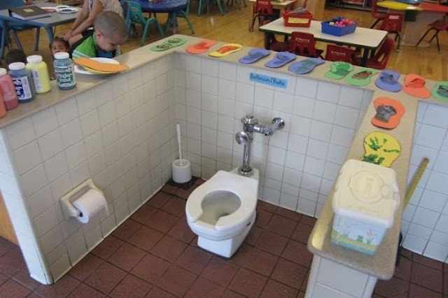 All Toilets Must Be Centered In The Middle Of The Classroom So Kids Eating Their Snacks Three Feet Away Can Bare Witness To Their Classmates Defecating