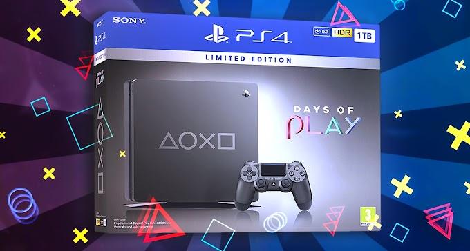 Sorteio de um PlayStation 4 edição limitada Days of Play de 1TB