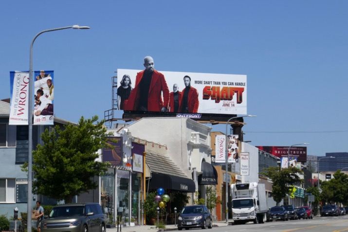Shaft movie extension billboard