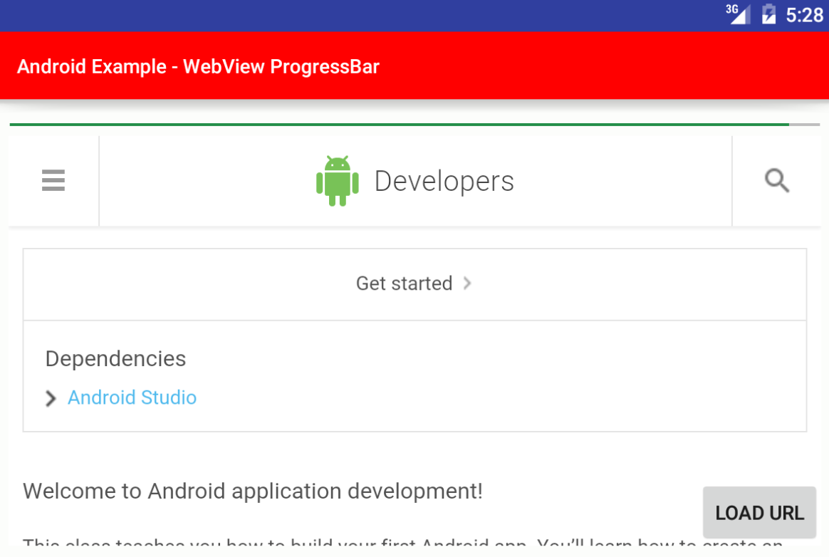 Webview Url Change Event Android