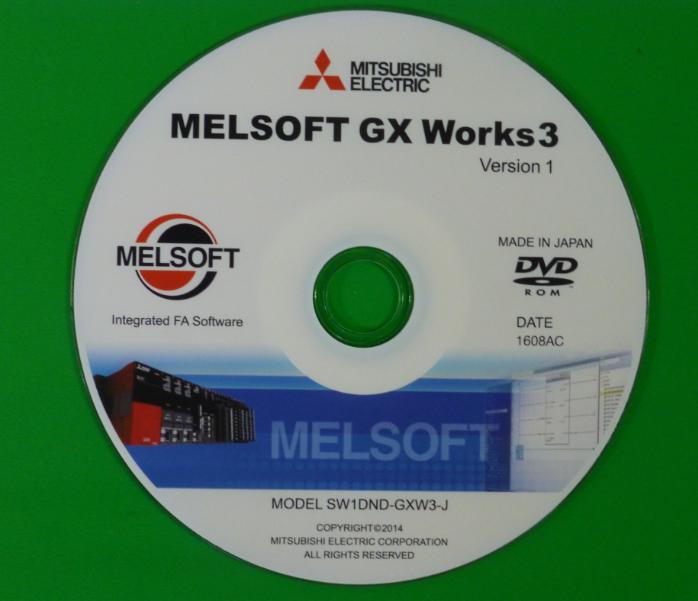 GX WORKS MITSUBISHI MEGA NZ ~ PLC SOFTWARE