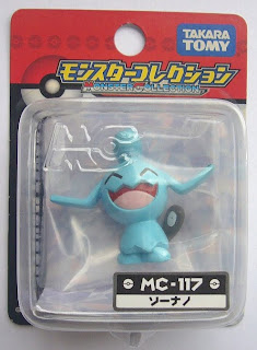 Wynaut Pokemon figure Tomy Monster Collection MC series
