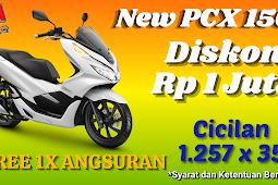 HARGA KREDIT HONDA PCX 150 WILAYAH BEKASI