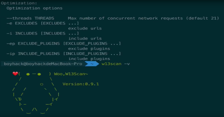 W13Scan : Passive Security Scanner Linux/Windows/Mac Systems