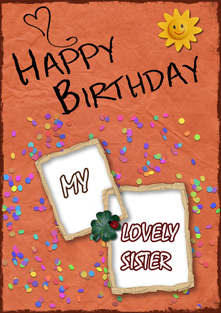 images happy birthday sister