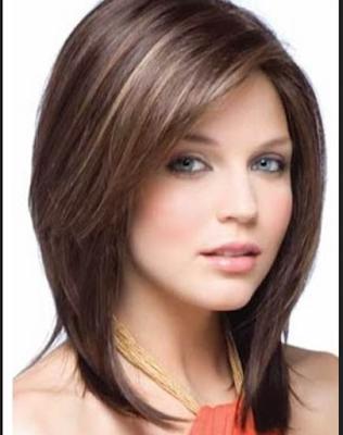 model rambut pendek untuk wajah bulat dan badan gemuk