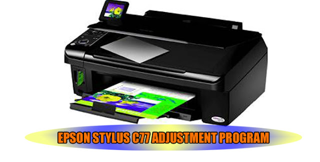 Epson Stylus C77 Printer Adjustment Program