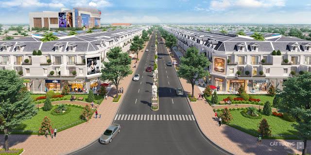 Đại lộ Phú Hưng, tuyến đường chính của dự án Cát Tường Phú Hưng